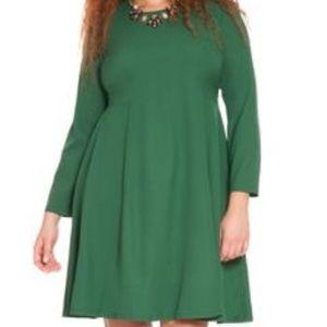 Eloquii Flowy Crepe Dress